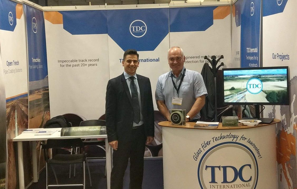 TDC Exhibits at the No-Dig Conference & Exhibition