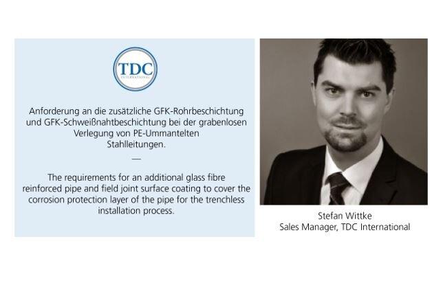 TDC International presents at the Oldenburger Rohrleitungsforum